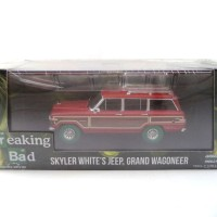 GREENLIGHT 1/43 SPECIAL JEEP GRAND WAGONEER BREAKING BAD GREEN MACHINE