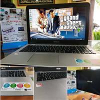 Laptop seken Asus X555B mulus pol LIKE NEW Bisa GTA v Lancar jaya