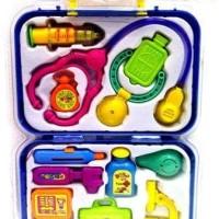 Mainan Peralatan Dokter dan Salon 1 Set Tas Cocok Unik