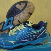Sepatu Badminton RS Superliga 802 Blue Original Sepatu Badminton Murah