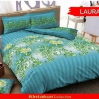 Terbaru Bedcover Set Kintakun Laura No.1 King 180 Bcs Klasik Bed Cover