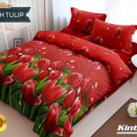 Terbaru Bedcover Set Kintakun Dutch Tulip No.1 King 180 Bcs Bed Cover