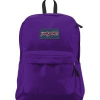 Tas JanSport Superbreak Signature Purple