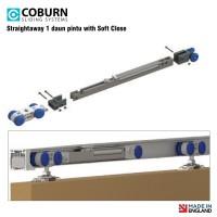 Paket Coburn Sliding Straightaway With Soft Close (1 Daun Pintu)