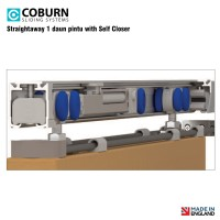 Paket Coburn Sliding Straightaway With Self Closer (1 Daun Pintu)