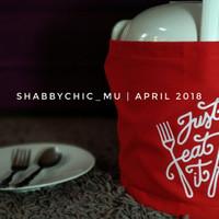 Cover Magic com / Sarung Rice cooker Just Merah