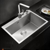Paket komplit kitchen sink onan 6045 bak cuci stainles model bolzano