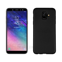 Samsung Galaxy A6 J4 J6 S9 A8 PLUS J7 DUO J2 Pro 2018 Fit Carbon Cand