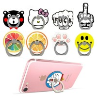 Iring Ring Hp Motif Kartun Disney Cute Holder Redmi note 4x 4a Oppo f