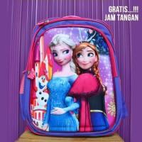 SALE TAS SEKOLAH ANAK TK SD RANSEL PALO ALTO Motif Frozen Princess A