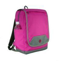 ORIGINAL Tas Ransel Laptop Wanita Estilo Warna Pink plus Raincover