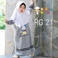 Gamis Anak - Baju Muslim Anak Murah RG-21