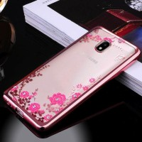 Tpu Flower Samsung J7 Plus 2017 Dual Camera Soft Case Casing Hp Cover