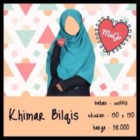 Khimar / Jilbab / Kerudung Segi Empat Wolfis Uk. 130