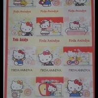 Kertas Stiker Ukuran A4 (Bisa Untuk Printer)