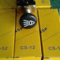 Saklar Lampu / Switch Saklar Lampu Mobil Universal 2x Tarik Merk NSP