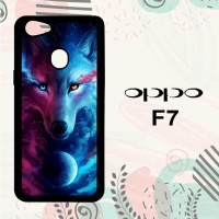 Casing OPPO F7 Custom HP Wolf Galaxy L0654