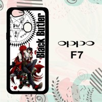 Casing OPPO F7 Custom HP Black Butler Grell W3184