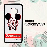 Casing Samsung Galaxy S9 Plus Custom HP Supreme Mickey LI0123