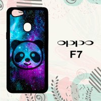 Casing OPPO F7 Custom HP Galaxy Panda LI0084