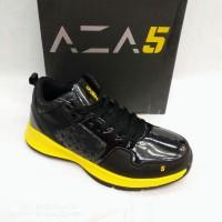 Sepatu basket ardiles DBL aza5 black yellow original