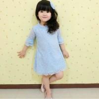 Dress Anak Brukat | Arya Dress