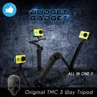 TMC 3 Way Tripod for Xiaomi Yi & GoPro kamera camera