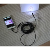 Android Endoscope Camera 7mm 720p IP67 Waterproof for Smartphone and P
