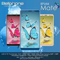 Handphone / HP Bellphone BP-268 BP268 Mate RESMI [RAM 1GB / ROM 4GB]