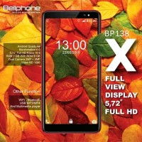 Handphone / HP Bellphone BP-138 BP138 X [RAM 512MB / Internal 4GB]