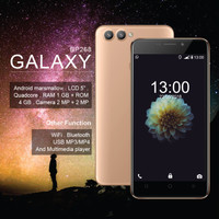 Handphone / HP Bellphone BP-268 BP268 Galaxy RESMI [RAM 1GB / ROM 4GB]