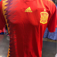 Jersey Negara Spanyol Home World Cup 2018 Grade Ori Thailand
