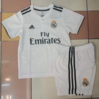 Jersey Anak / Kids Real Madrid Home 2018 - 2019 Grade Ori