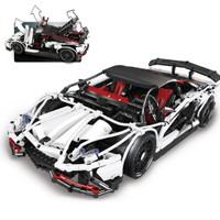 Brick Lepin 23006 Technic Lamborgini Aventador 2838pcs