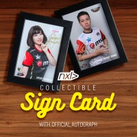NXL Collectible Sign Card