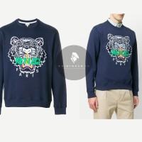 KENZO BLUE TIGER SWEATSHIRT ORIGINAL | KENZO PARIS TIGER SWEATER