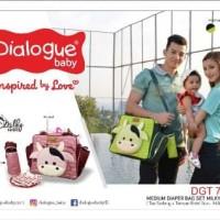 "DIALOGUE BABY : Tas Bayi Medium ""Dialogue"" Milky Series"