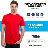New States Apparel Premium Cotton T-shirt 7200