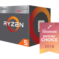 AMD Ryzen 5 Raven Ridge 2400G 3.6Ghz Up To 3.9Ghz Cache 4MB 65W AM4