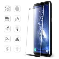 Samsung HP Note 8 Full Layar Free Standing Ring Tempered Glass screen