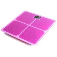 Timbangan Badan Kaca Elektronik 180KG - Taffware SC-05 - Pink