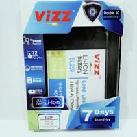 baterai batt batre double power vizz lenovo bl259 k32c36 k32c30