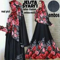 Jelita syari–fashion muslim-gamis bunga-hijab syari-modern-sale-KS
