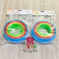 New Ring Cutter 2 Sisi Plastik Rainbow GK204