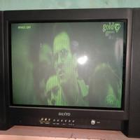 TV TABUNG BEKAS SANYO 60CM*45CMAN+- televisi masih berfungsi normall