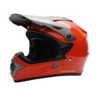 Cargloss Former Motocross Helm Full Face - SM Red