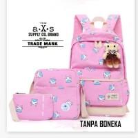 Harga pusat grosir tas anak sekolah anak sd laki perempuan caty 3in1 murah | Pembandingharga.com