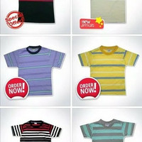 Kaos Anak Stripe
