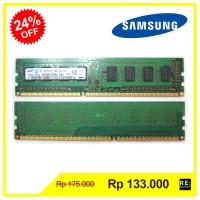 Memory PC RAM Samsung DDR3 2GB 1Rx8 PC3 10600U