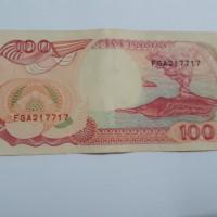 Uang seratus Rp. 100,- tahun 1992